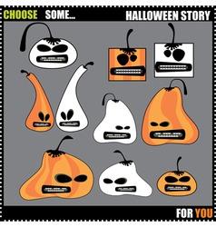 helloween story vector image