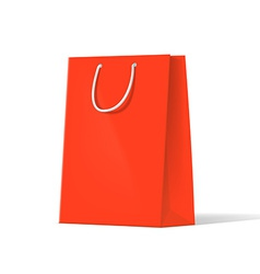 red bags vector image