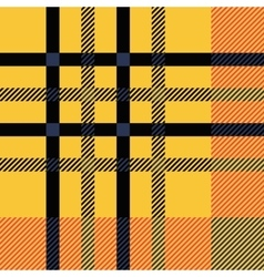 Set seamless british tartan pattern plaid brown vector