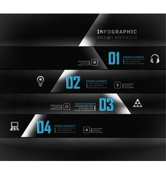 options banner vector image vector image