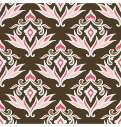 Abstract seamless vintage pattern for fabric vector