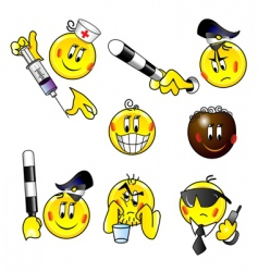 alcoholic buttons vector image