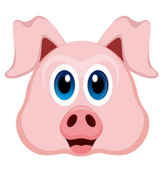 avatar of a pig vector image