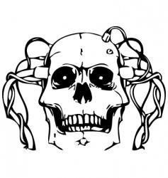 vector skull vector image vector image