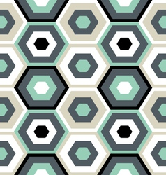 Outerspace hexagons vector