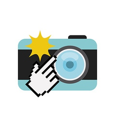 Camera photographic vector