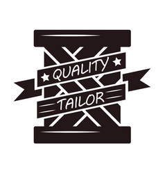 Abstract black quality tailor vector