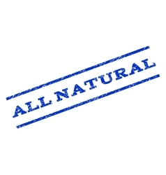 All natural watermark stamp vector
