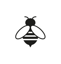 bee online icon vector image