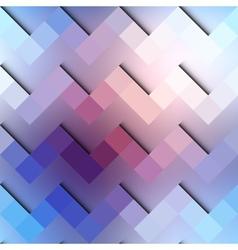 Chevron geometric pattern on blurred blue vector