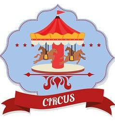 Circus entertainment vector
