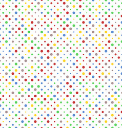 Pattern of vibrant dots vector