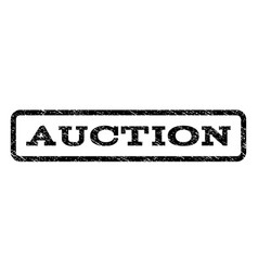 auction watermark stamp vector image vector image