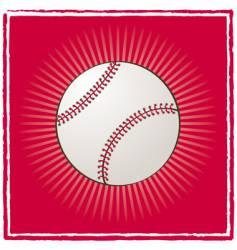 Ball baseball vector