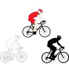 bikers - vector image vector image