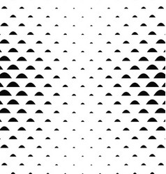 Black white curved shape pattern background vector image