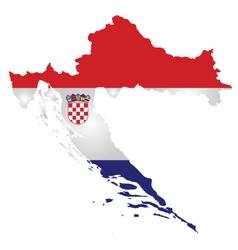Croatia flag vector