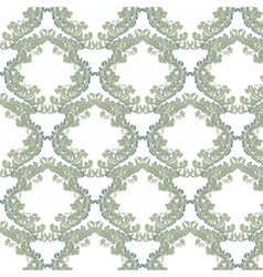 Vintage floral baroque ornament vector