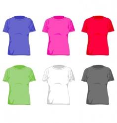 Women tshirt vector