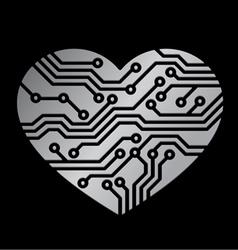 Technology love vector