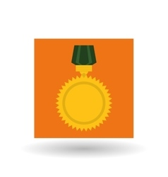 Military medal design vector