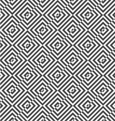 Alternating black and white diagonally cut squares vector image vector image