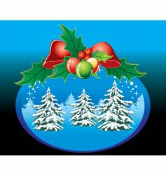 Christmas illustrations vector image vector image