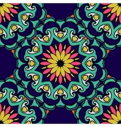 Colorful Festive Abstract Floral Pattern vector image
