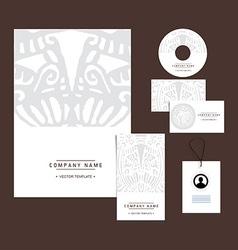 Ethnic branding vector