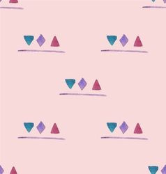 Watercolor shapes pattern vector