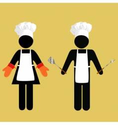 Chefs symbols vector