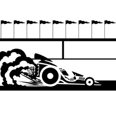 Race car vector
