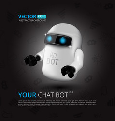 bot vector image