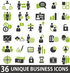 Businessicons vector
