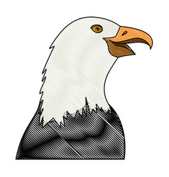 Eagle icon image vector