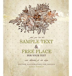 Rustic Invitation vector image