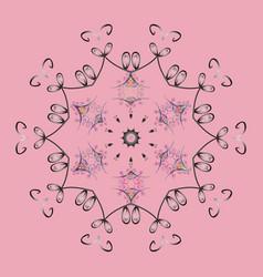 Winter snow december season snowflakes icon in vector