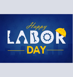 labor day background design vector image