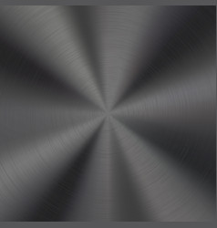 black metal technology background vector image vector image