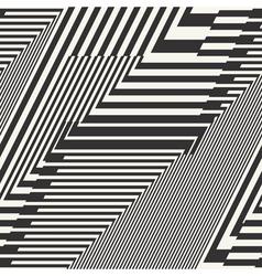 Striped textured chevron optical vector