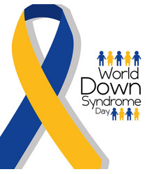 World down syndrome vector