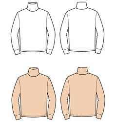Turtleneck vector image