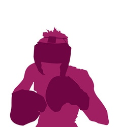 Boxer design vector