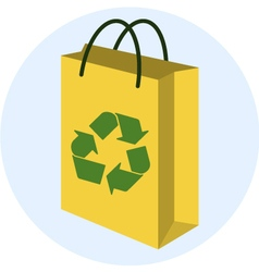 Recycling bag vector