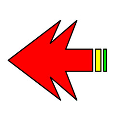 arrows forward vector image vector image