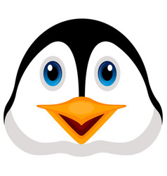 avatar of a penguin vector image vector image