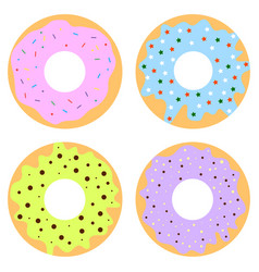 donuts2 vector image vector image