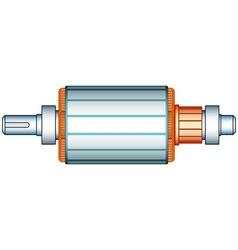 Electric motor rotor vector
