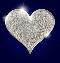 Valentine s day heart symbol vector