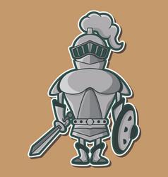 05 cute knight design vector